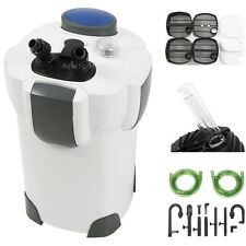 100 Gallon 370 GPH Aquarium Fish Tank Canister Filter + 9W UV Sterilizer