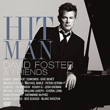 Hit Man: David Foster & Friends (CD & DVD, 2 Discs, 143 Records) Buble, Shelton