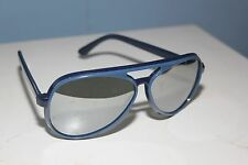AVIATOR SUNGLASSES *JAPAN* VINTAGE QUALITY MIRROR SKI LENSES @1980 G/VG COND