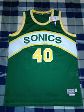 New Adidas HWC Shawn Kemp Jersey Size Large +2 Length Seattle Sonics Reignman