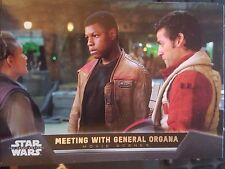 2015 Star Wars The Force Awakens Movie Scenes #13 Meeting With General Organa