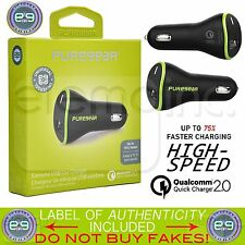 PUREGEAR 2.4A Single USB Extreme CAR Vehicle Charger Qualcomm Quick Charge 2.0
