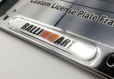 Chrome License Plate Frame for RalliArt Mitsubishi Lancer Evolution Eclipse RVR