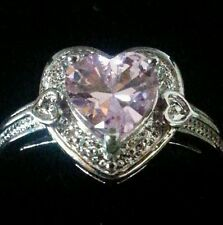 925 sterling silver heart ring/christmas present