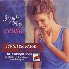 ★☆★ CD Single Jennifer PAIGE Crush 2-Track CARD SLEEVE with french sticker  ★☆★