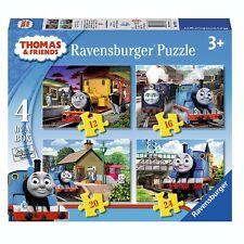 Thomas und seine Freunde - Kinder Puzzle Box 4 in 1