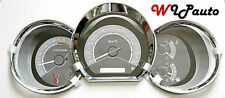 TOYOTA HILUX VIGO SR5 MK6 2005 - 2011 CHROME DASH GAUGE COVER TRIM ABS