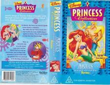 PRINCESS COLLECTION ARIELS HERO'S~DISNEY VHS VIDEO PAL~ A RARE FIND~