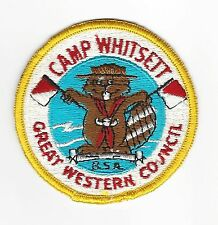 BOY SCOUT   CAMP WHITSETT PP     GREAT WESTERN CNCL     CAL