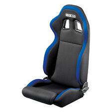 Sparco Street R100 Blue Black Cloth Seat - 00961NRAZ - FREE SHIPPING