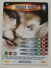 DOCTOR WHO<>BATTLES IN TIME TRADING CARD<>NOVICE HAME<>CARD No. 458
