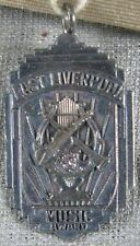 Vintage 1950's Sterling Silver Pin Pendant~East Liverpool, OH Music Award