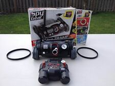 Spy Gear Spy Trakr Remote Control Vehicle Rover Toy Video Camera Audio