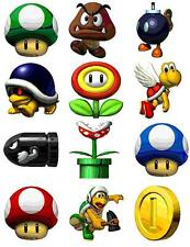 Super Mario World Characters Scrapbooking Craft Sticker Sheet Set #1