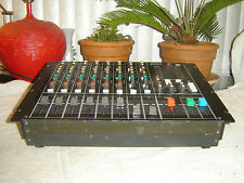 Sony MX-P21, Audio Mixer, with 3 Band Equalizers, Vintage Rack, As Is or Repair