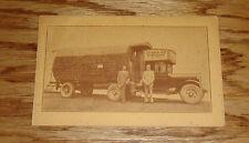 Original 1926 Douglas Fir Log Cabin Homemade Motorhome Sales Brochure 26