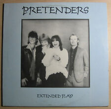 "The Pretenders - Extended Play EX+/VG+ EP 12"" Record 1981 Sire Records MINI 3563"