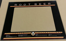 ROOTBEER TAPPER GLASS BEZEL screen printed EXCLUSIVE!
