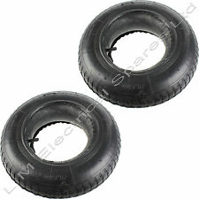 2 x Wheelbarrow Wheel Rubber Inner Tube and Barrow Tyre 3.50-8 Innertube 35 PSi