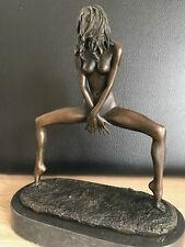 Bronzefigur Erotischer Akt Die Frivole Signiert Aldo Vitaleh