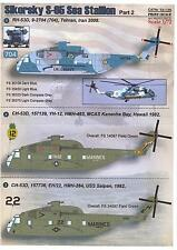 Print Scale Decals 1/72 SIKORSKY S-65 SEA STALLION Helicopter