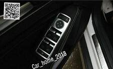 ABS Chrome Car Window Switch Cover for LED Mercedes-Benz C W212 W204 S204 C207