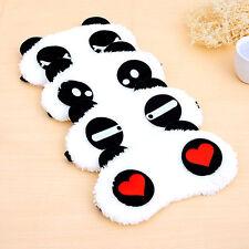 Cute Panda Face Eye Travel Sleep Lightproof Mask Blindfold Portable Nap Cover SZ