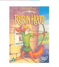 ROBIN HOOD DVD Walt Disney Original Animated Cartoon Brand New Sealed UK Release