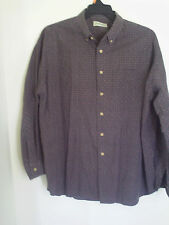 Tag ST. JOHNS BAY Men Long Sleeve Dress Shirt Size Large