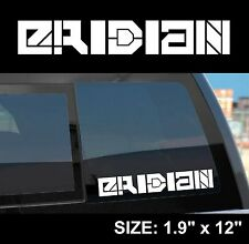 "Borderlands 2 ""Eridian"" Gun Manufacturer Sticker Decal"
