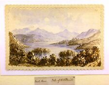 SCOTTISH LOCHS LOCH AWE ISLE OF THE DRUIDS ELIZABETH DENNISTOUN W/COL 1876