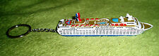 New Carnival Cruise Line ELATION Ship Model Key Chain Official Licensed