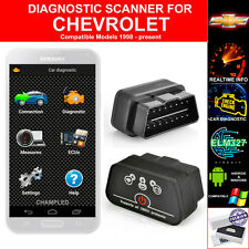 OBD II 2 FOR CAR AUTO DIAGNOSTIC CODE SCANNER SCAN TOOL WITH POWER SWITCH CHEVY