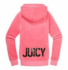 NWT Juicy Couture Velour Relaxed Hoodie, Pink,Large, $138