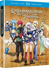 Lord Marksman And Vanadis . The Complete Series . Anime . 2 DVD + 2 Blu-ray NEU