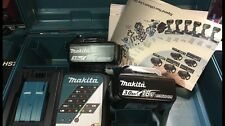 Kit Litio Makita 2 Batterie 18v 3.0ah + Dc18rc + Valigia Makpack Lxt Nuovo