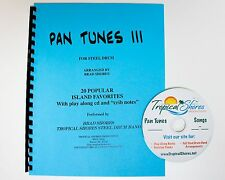 "Steel Drum Play Along Book ""Pan tunes 3"""