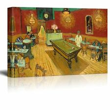 The Night Cafe by Van Gogh Giclee Canvas Prints Wrapped Gallery Wall Art - 12x18
