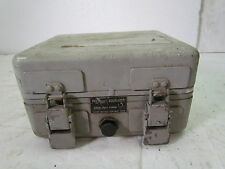 Vintage Champion Company Military Metal Box - With Pressure Equalizer