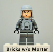 New Genuine LEGO Imperial Officer Hoth Minifig Star Wars 8084