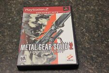 Metal Gear Solid 2: Sons of Liberty Greatest Hits (Sony PlayStation 2, 2002)Z-6