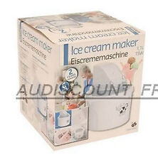 MACHINE A GLACE SORBETIERE CREME SORBET LUXE NEUF 1L 93