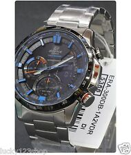 ERA-300DB-1A2 Blue Casio Men's Watches Edifice Light LED Brand-New 100M Compass
