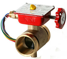 "2-1/2"" BRONZE BUTTERFLY VALVE GROOVED WITH TAMPER SWITCH, UL/FM Fire Protection"