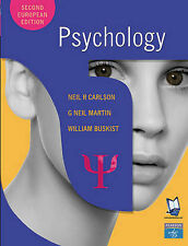 Psychology by Neil R. Carlson, William F. Buskist, Neil Martin (Paperback, 2003)