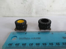 ERTL 1/64 JOHN DEERE PARTS TIRE PALLET LOAD LOT OF 2 FARM TOY TRACTOR L@@K!!