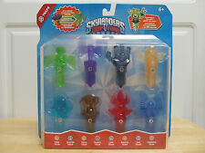 RARE Skylanders Trap Team Crystal 8 Trap Pack w Steamed Broccoli Guy & Tiki Trap