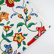 150x50cm Horse patchwork linen cotton fabric table plain quilt DIY sew cloth