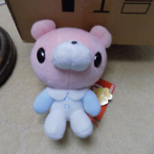 Gloomy Big Head Teddy Bear Plush Pink White & Blue baby chax Prize only doll toy