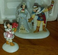 """$16 Free ship! DEPT. 56 """"Crystal Ice King and Queen"""" No.03616 Limited Ed. 2 pcs."""